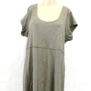 toad & Co sz XL short sleeve knee length dress